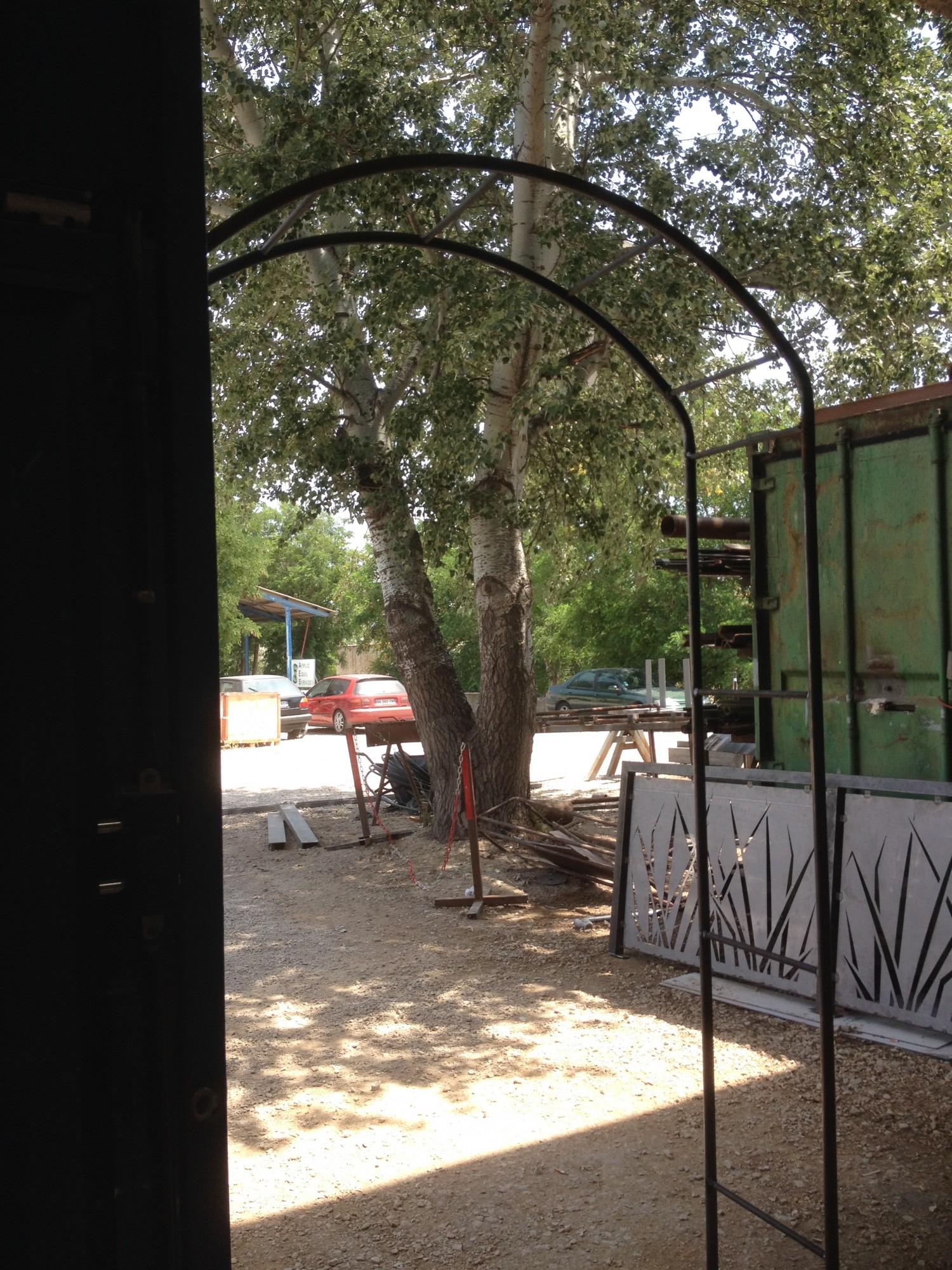 Arche De Jardin En Fer Forge A Martigues Fabrique Sur Mesure ... avec Arche De Jardin En Fer Forgé