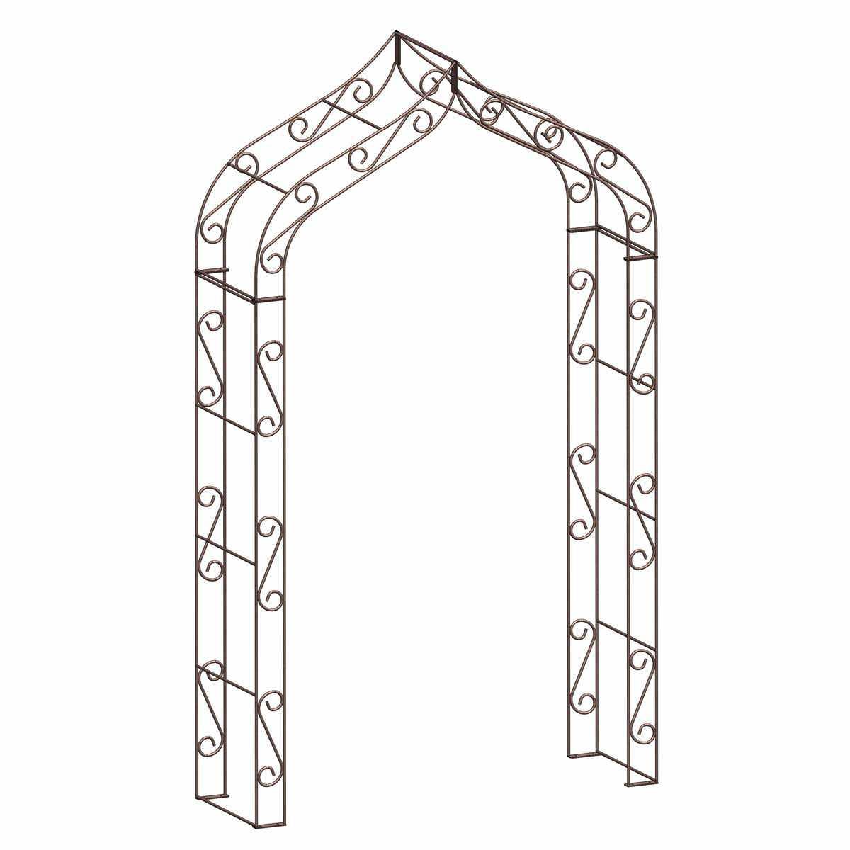 Arche De Jardin En Fer Gothique encequiconcerne Arche De Jardin En Fer