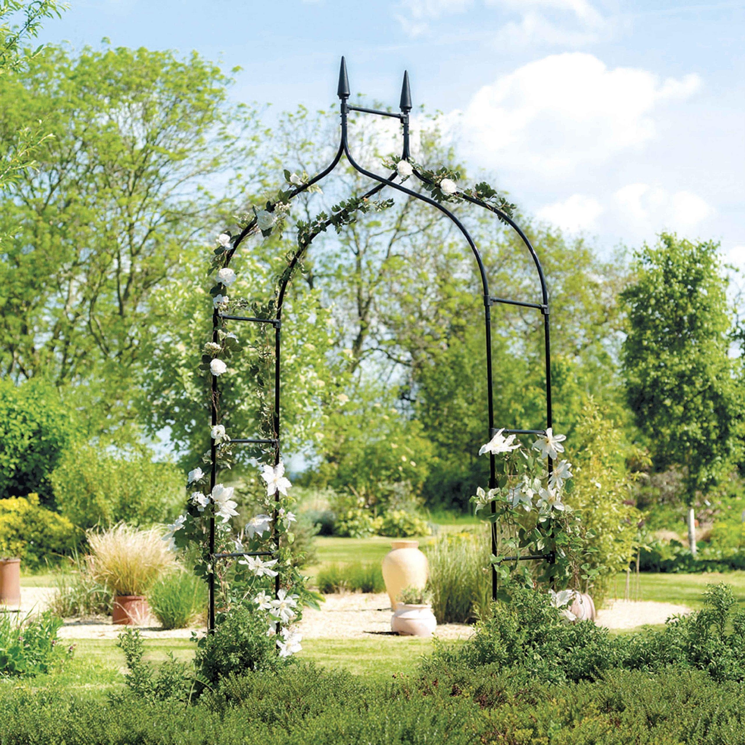 Arche De Jardin Gothique avec Arche De Jardin En Fer