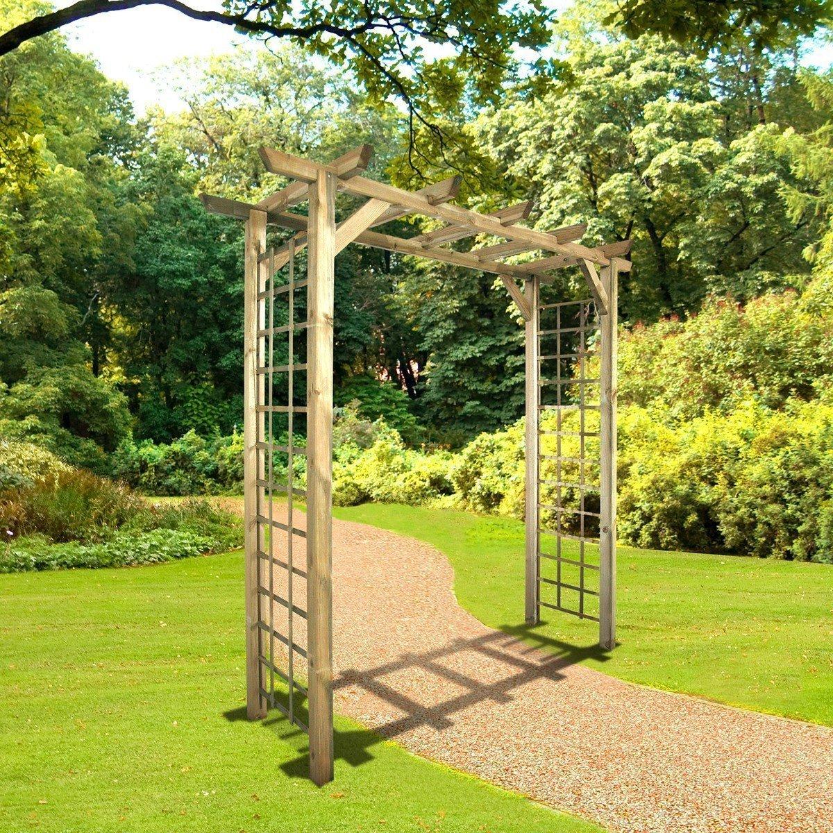 Arche De Jardin Jasmin Droite - Achat/vente De Décoration Du ... encequiconcerne Arche De Jardin Pas Cher