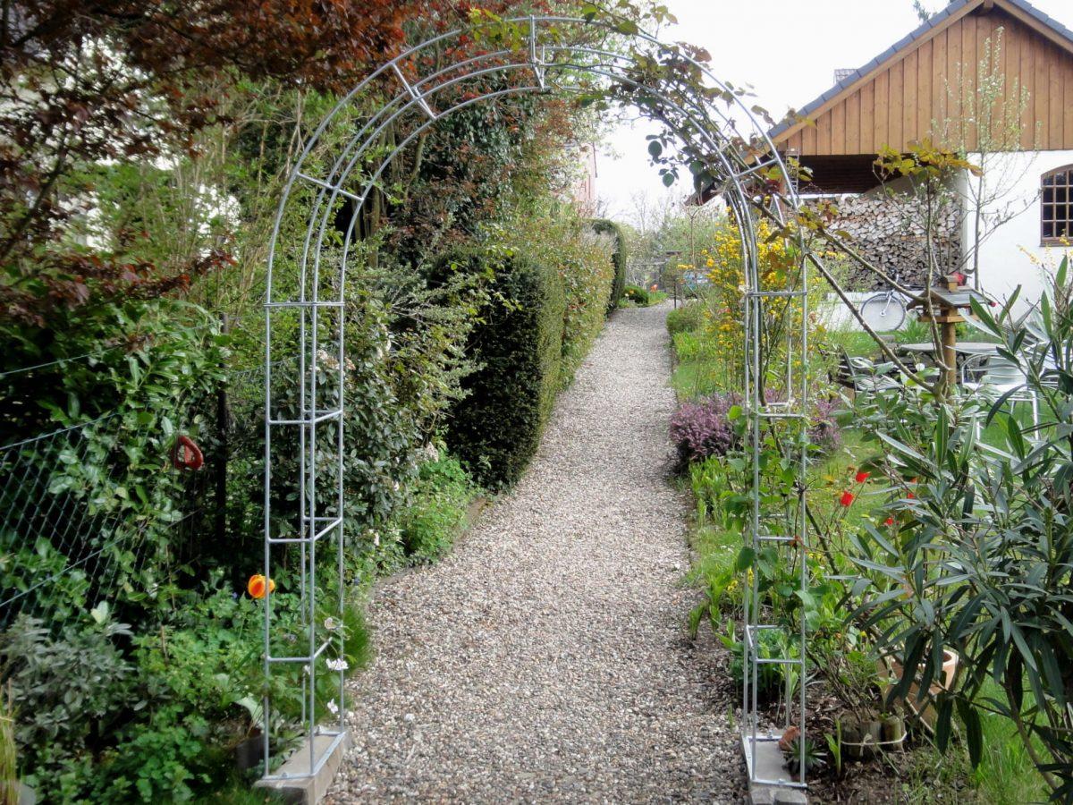 Arche De Jardin - Melabel® Clôtures concernant Arche De Jardin En Fer