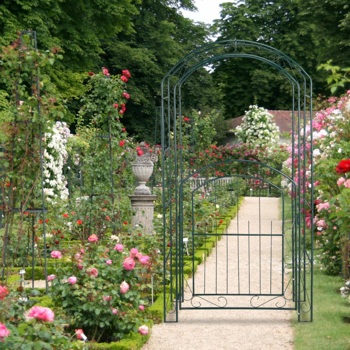 Arche Jardin Avec Portillon intérieur Arceau Jardin