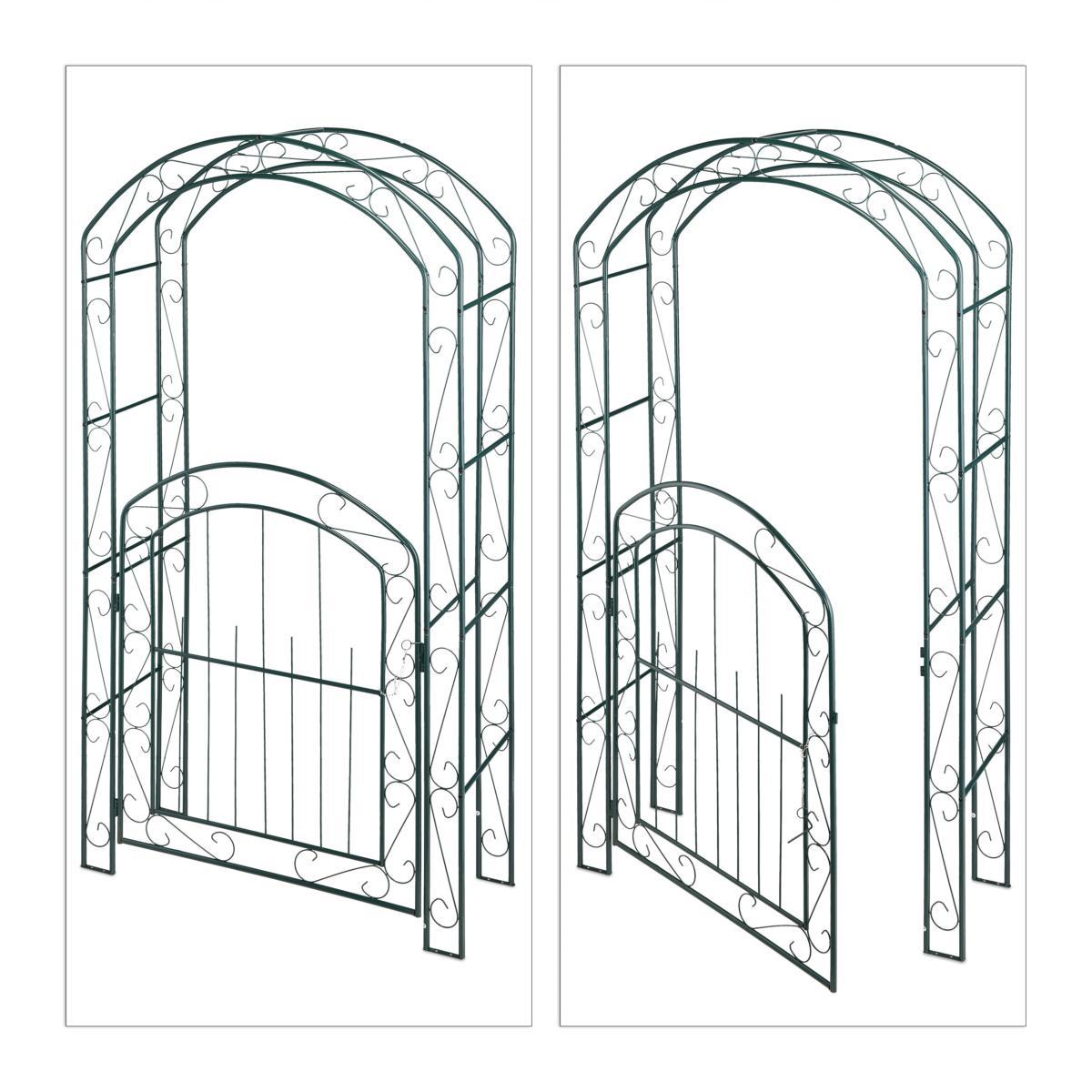 Arche Jardin Avec Portillon intérieur Arche De Jardin Avec Portillon