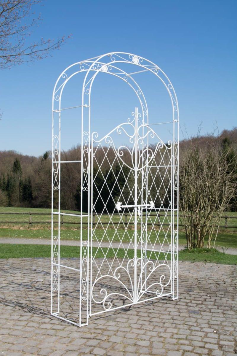 Arche Jardin Blanche Avec Portillon dedans Arche De Jardin Avec Portillon