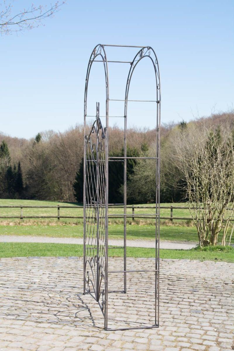 Arche Jardin Bronze Avec Portillon tout Arche De Jardin Avec Portillon
