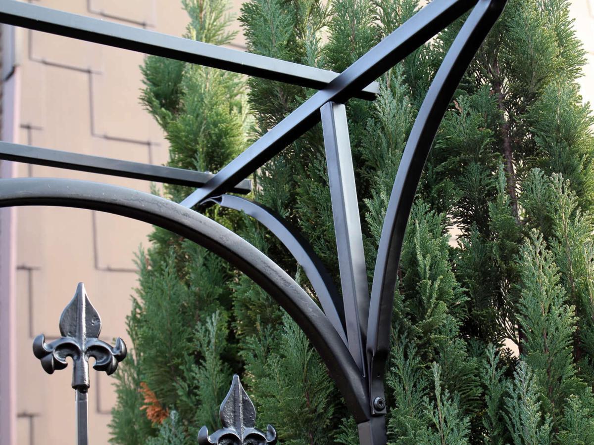 Arche Jardin Moderne Avec Portillon intérieur Arche De Jardin Avec Portillon
