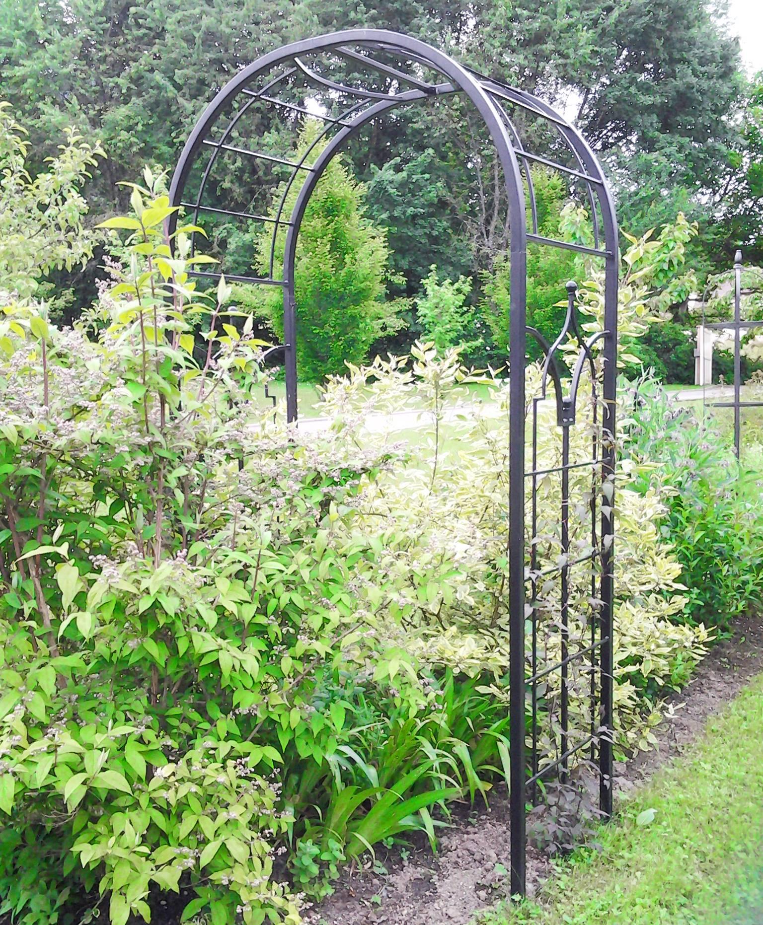 Arche Princess Arche À Fleurs Rosiers Tuteur Plantes De ... dedans Arche De Jardin En Fer Forgé