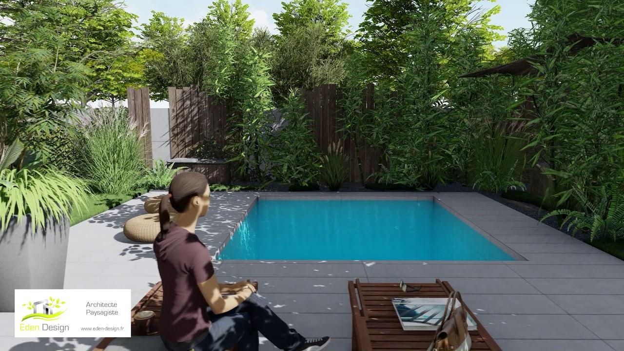 Architecte Paysagiste - Eden Design destiné Idee Amenagement Jardin Zen