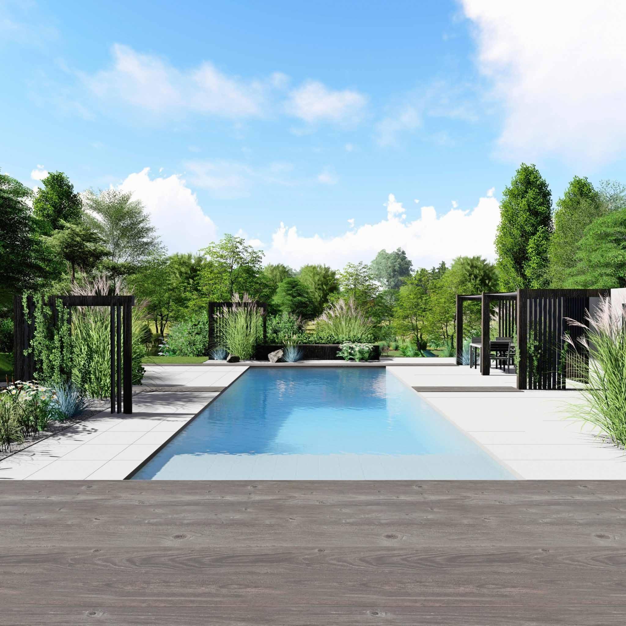 Architecte Paysagiste - Eden Design intérieur Aménagement Entrée Jardin