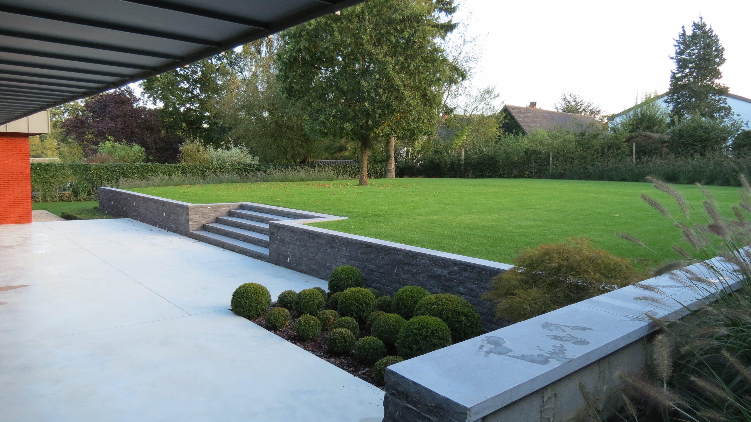 Architecte Paysagiste Ferrard pour Amenagement Jardin Belgique