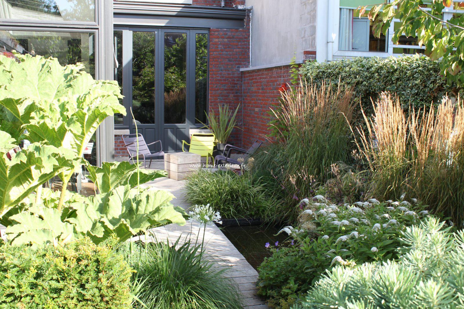 Architecte Paysagiste Terrasses Jardins - Nord - Lille - Le ... serapportantà Idée Allée De Jardin