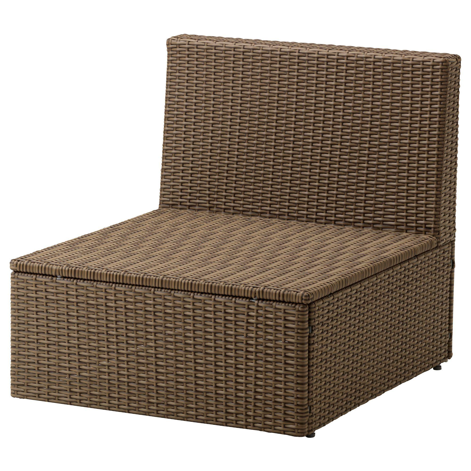 Arholma Chauffeuse 1 Place, Extérieur - Ikea $125 + 2 ... avec Ikea Meubles De Jardin