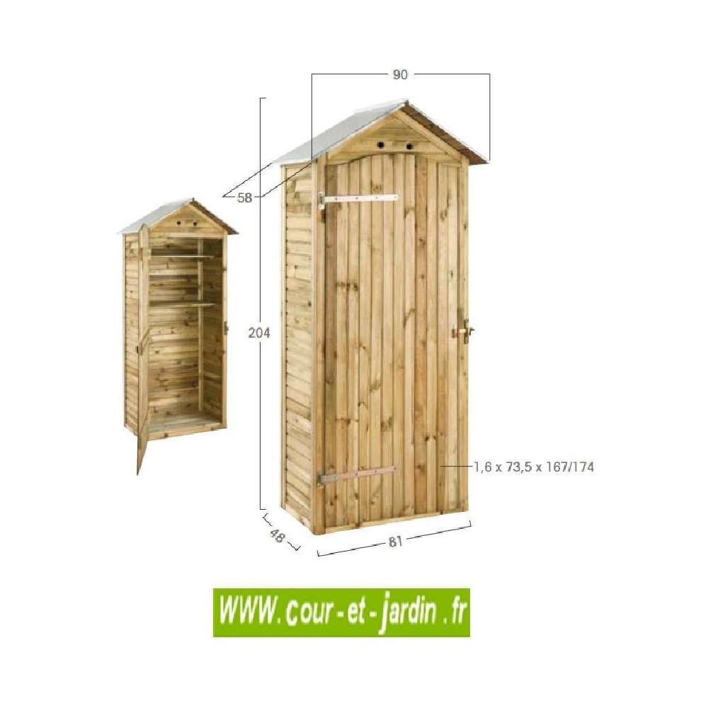 Armoire De Jardin Bois, Rangement Exterieur, Pas Cher, Mira destiné Armoire De Jardin Pas Cher