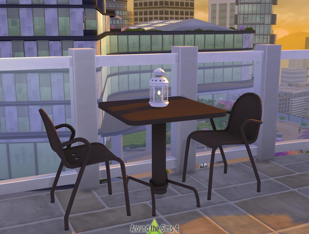 Around The Sims 4   Custom Content Download   Ikea Tunholmen ... dedans Mobilier De Jardin Ikea