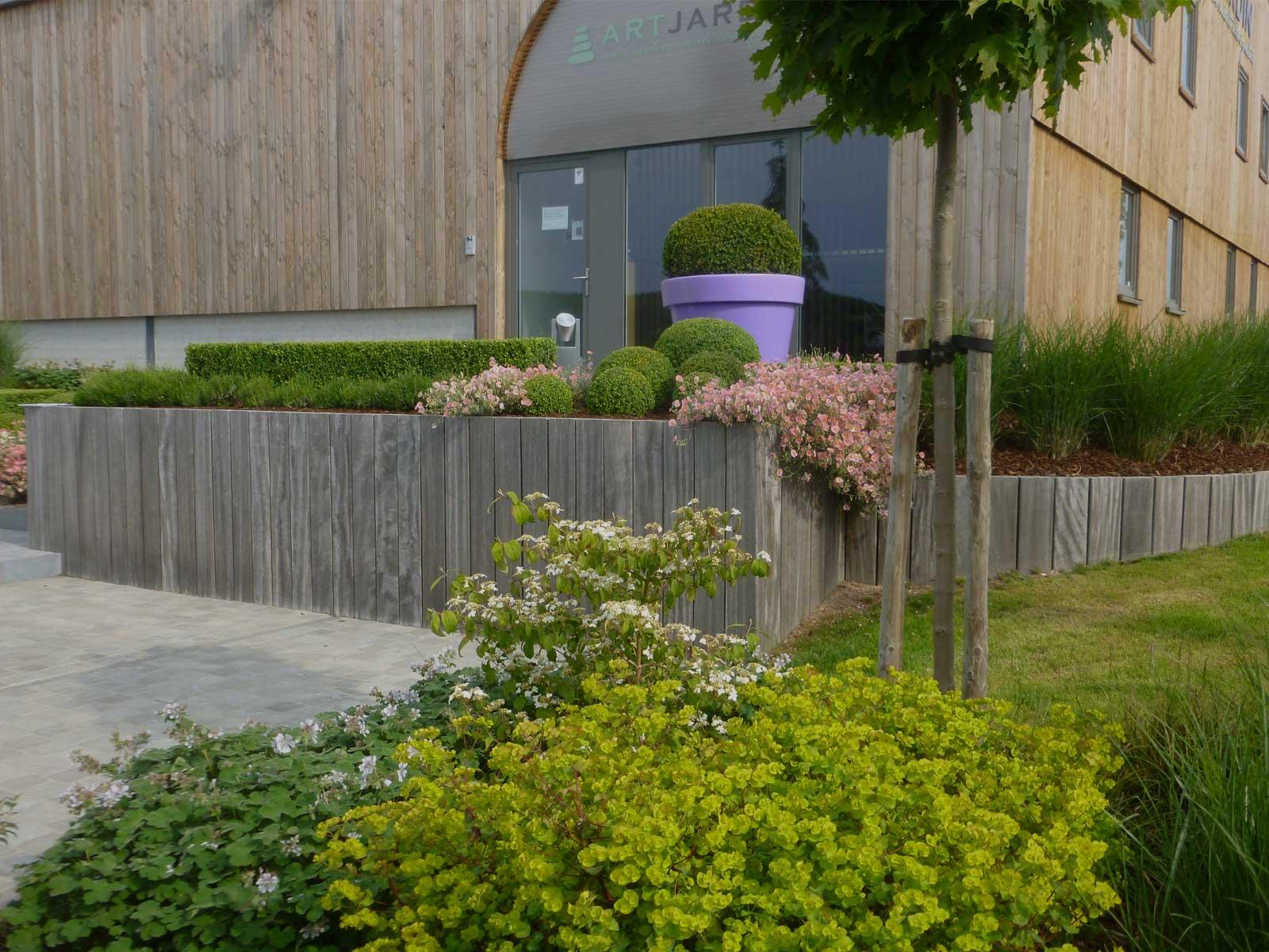 Art Jardin, Votre Spécialiste En Aménagements De Jardins intérieur Amenagement Jardin Belgique