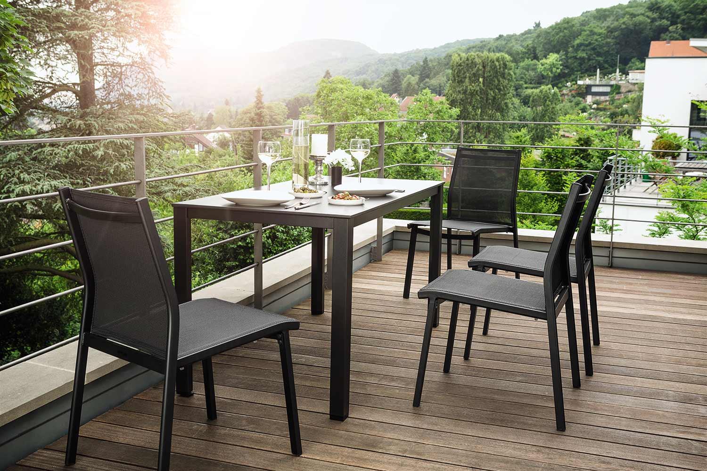 Articles Pour Jardin Et Terrasse Kettler Chaise De Jardin En ... à Kettler Mobilier De Jardin