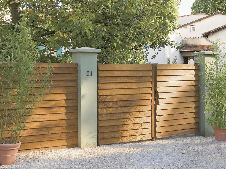 Articles Pour Jardin Et Terrasse Portail Portique Barrière ... destiné Barriere Pour Jardin