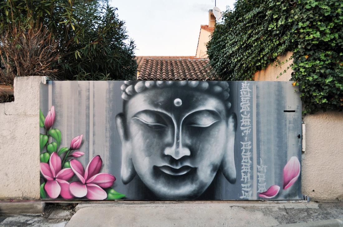 Arttistes Graffiti Décoration - Graffiti Decoration pour Déco Jardin Zen Exterieur