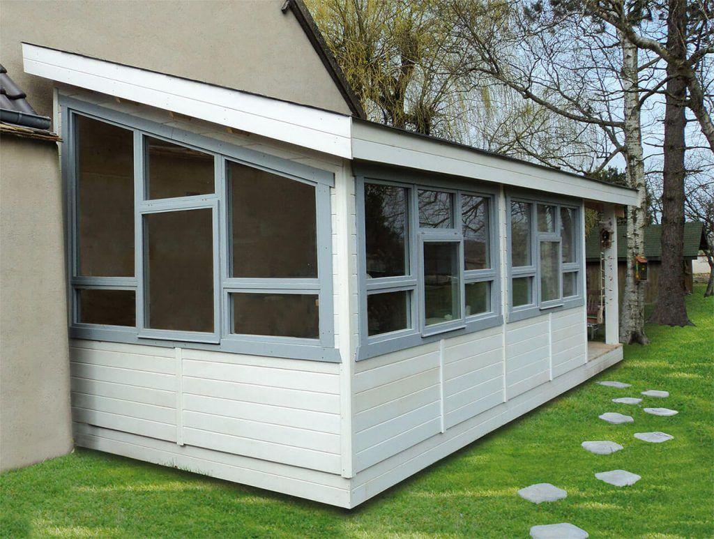 Atelier De Jardin Monopente En Bois La Baule, Abri Bois ... avec Abri Jardin Monopente