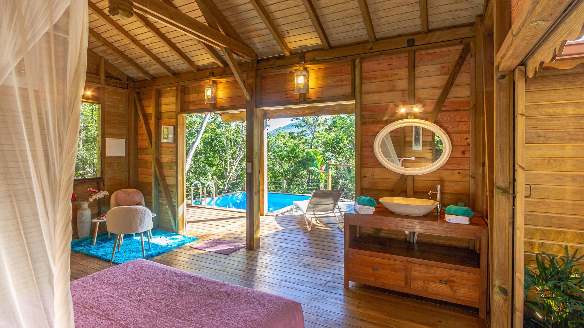 Au Jardin Des Colibris   Deshaies, Guadeloupe   Bon Travel intérieur Au Jardin Des Colibris