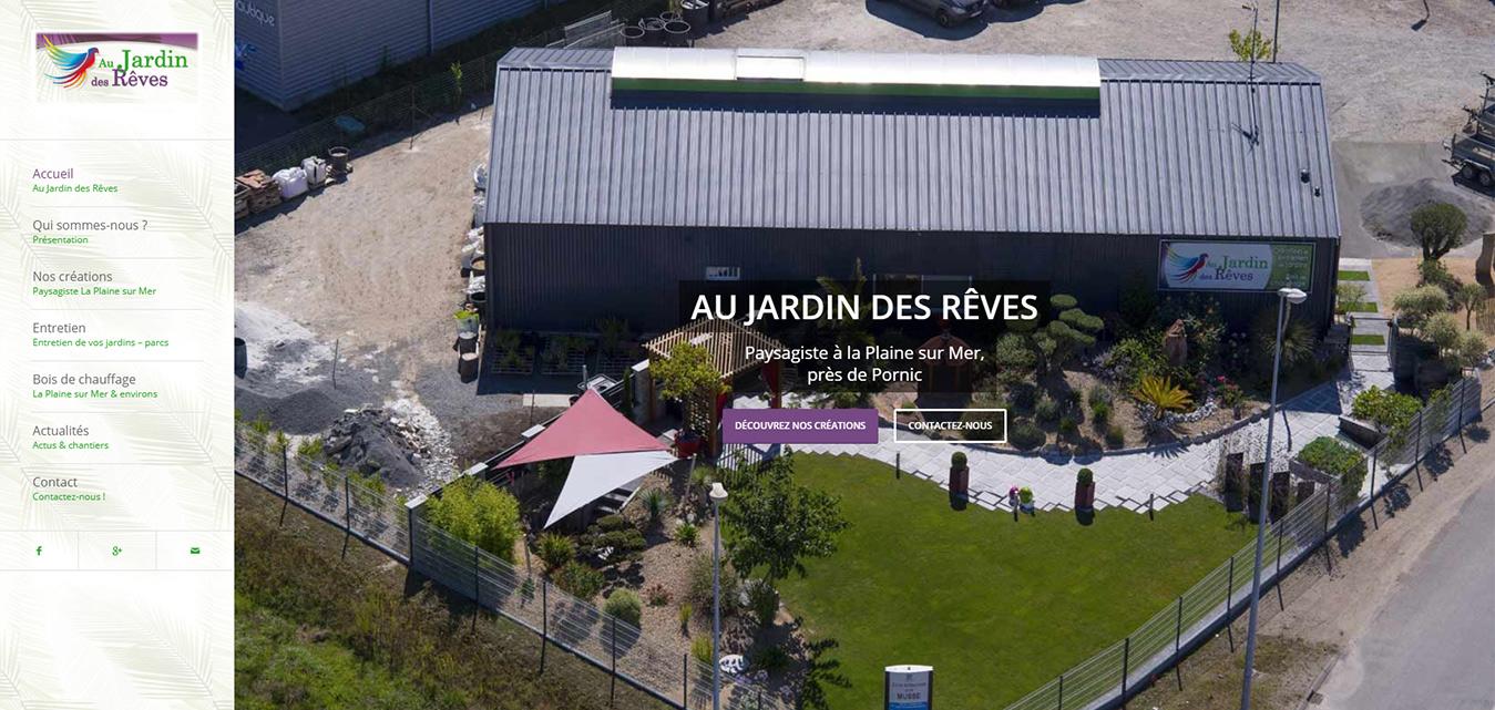 Au Jardin Des Rêves, Paysagiste À La Plaine-Sur-Mer 44770 dedans Jardin De Reve Paysagiste
