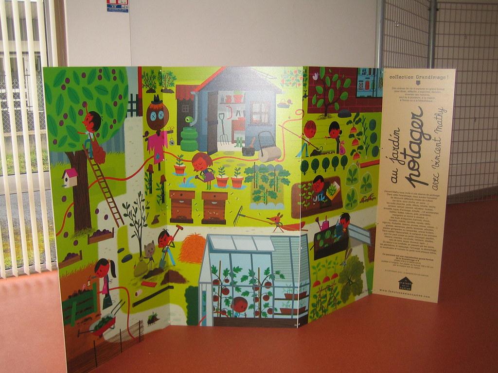 Au Jardin Potager De Vincent Mathy | Paravent Grandimage La ... pour Paravent De Jardin