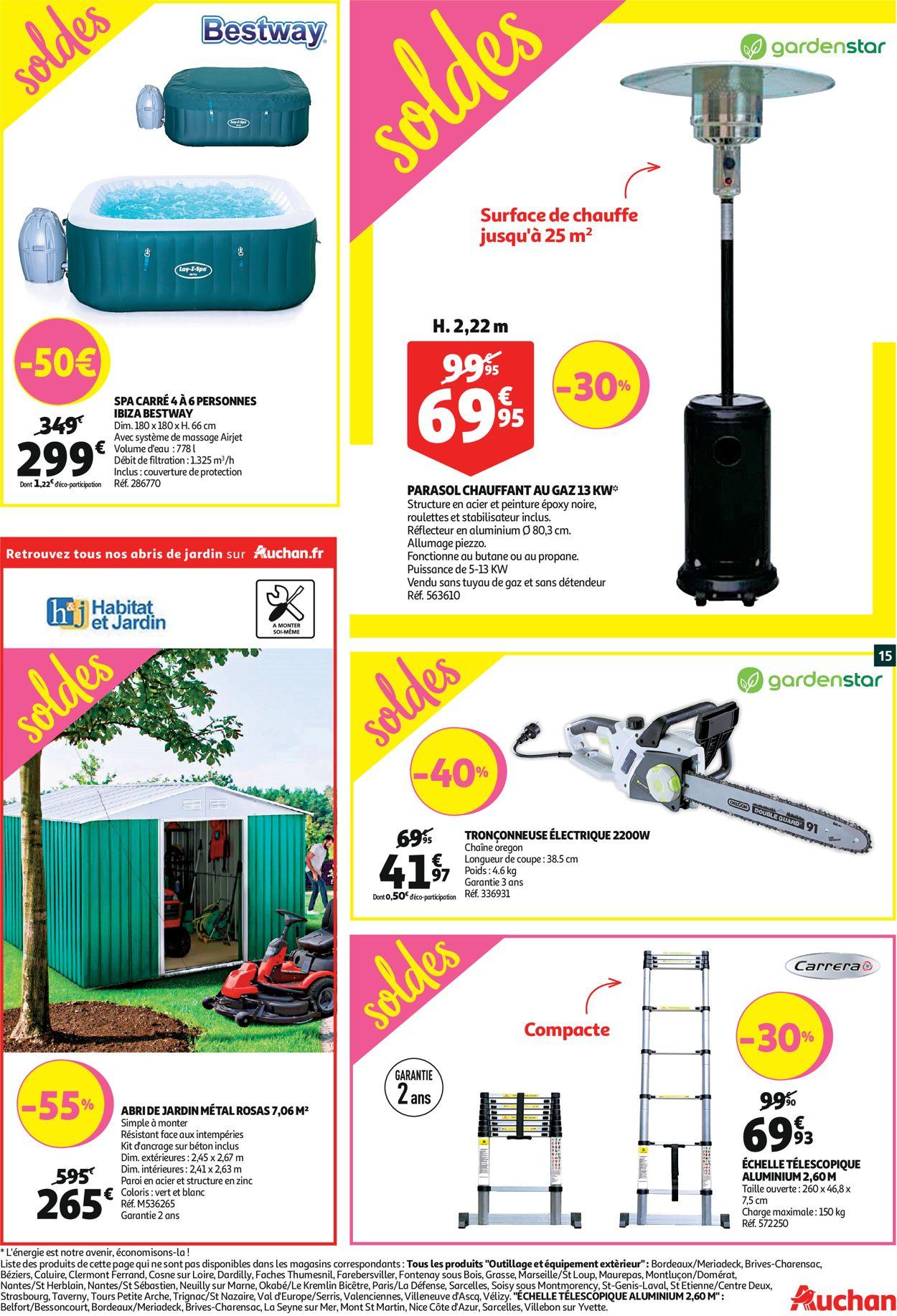 Auchan Catalogue Actuel 08.01 - 14.01.2020 [15] - Catalogue ... tout Abri De Jardin Auchan