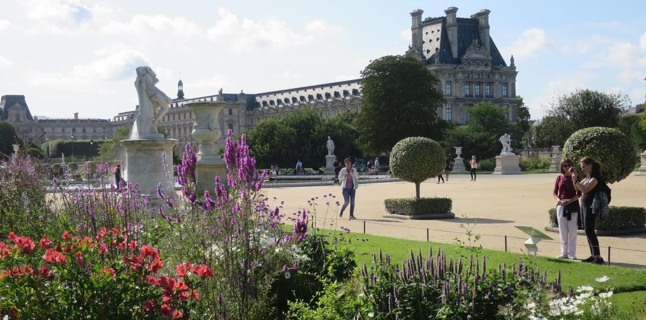 Aux Tuileries, «La Joconde» Inspire Les Jardiniers - Le Parisien serapportantà Idée De Génie Jardin