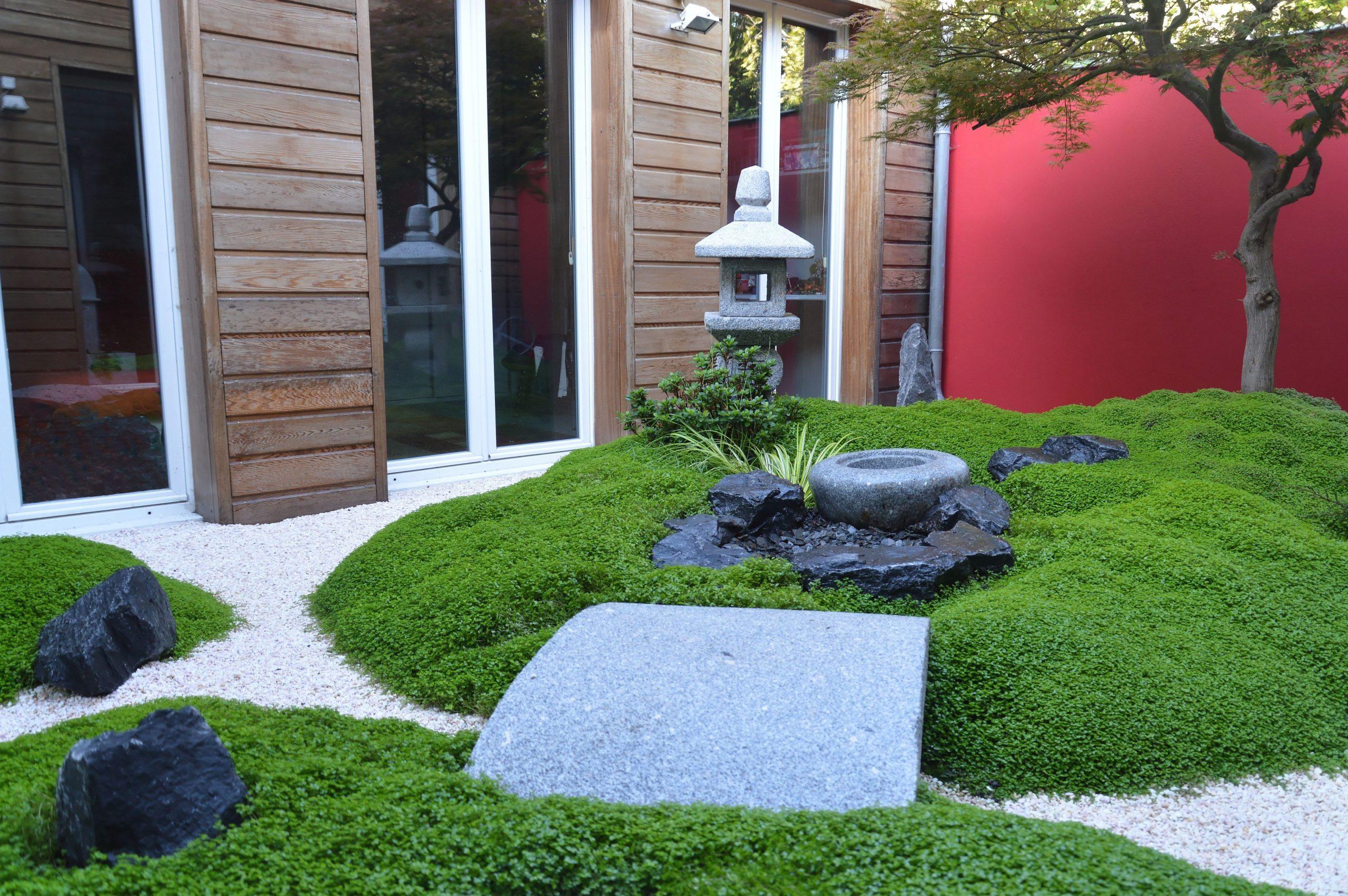 Avant-Après : Une Terrasse Transformée En Jardin Japonais ... dedans Jardin Japonais Sur Terrasse