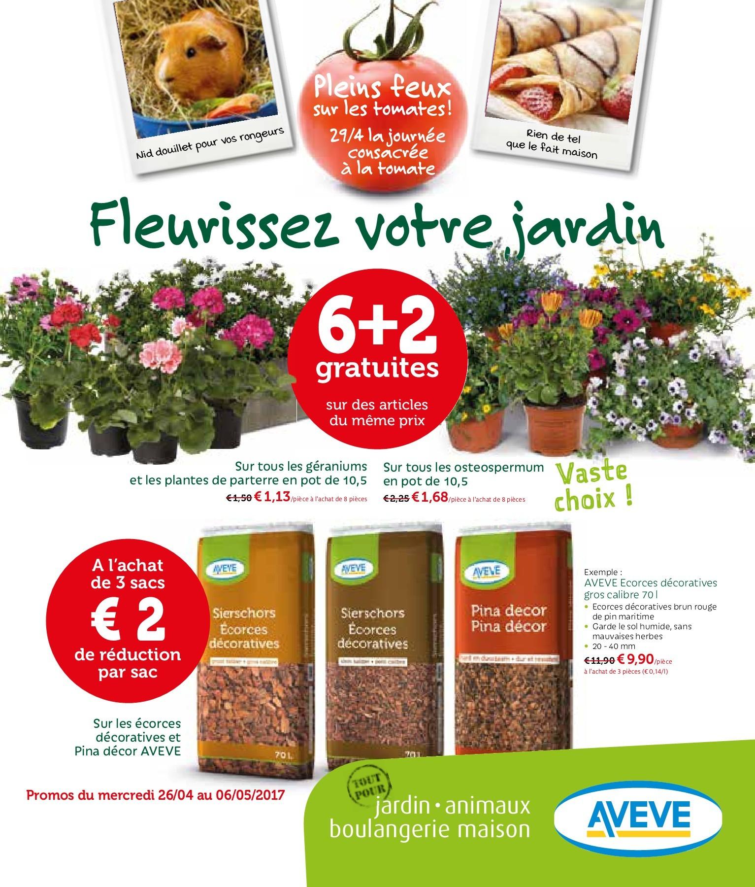 Aveve_Fr_26-04 Tot 06-05 Pages 1 - 6 - Text Version | Fliphtml5 intérieur Ecorces Jardin