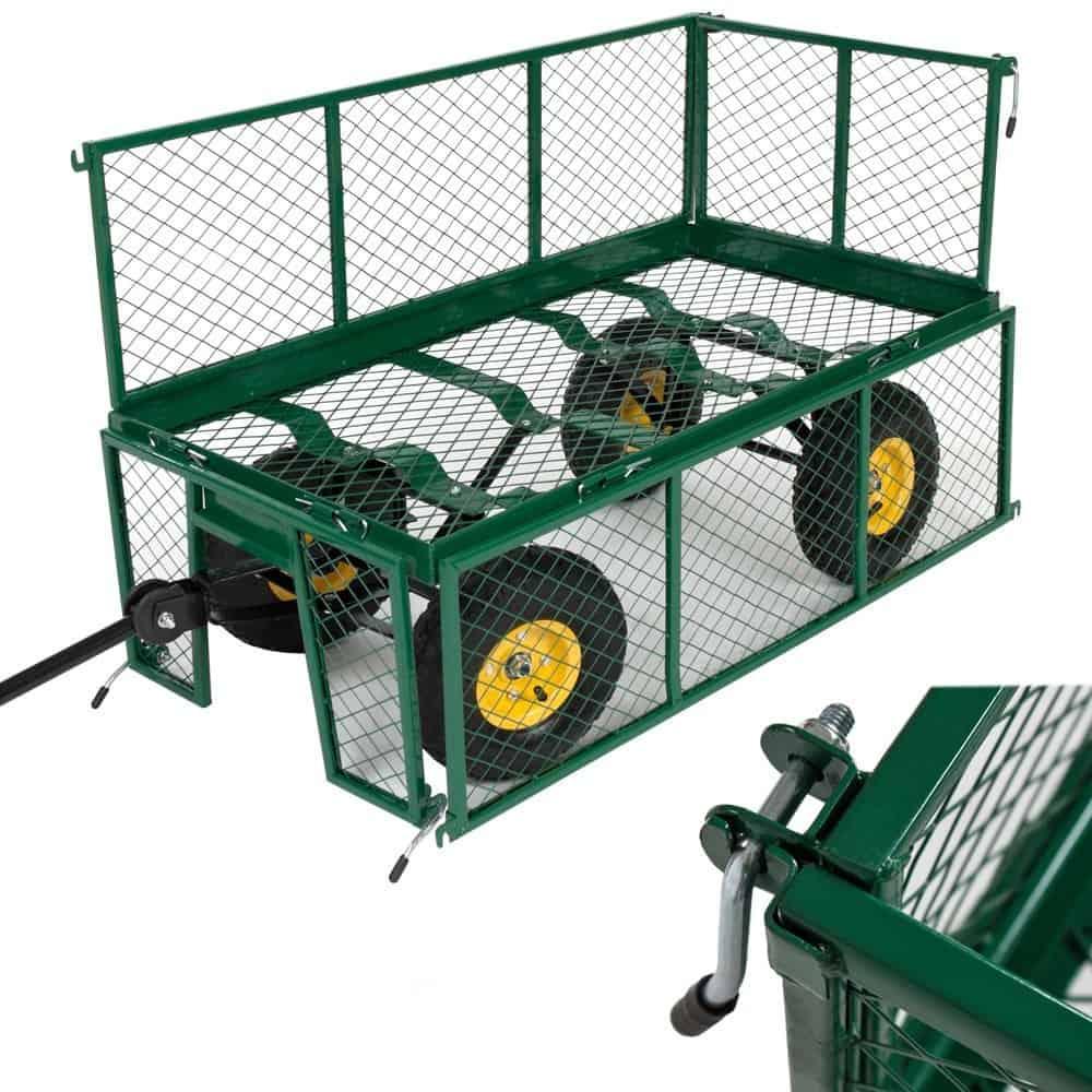 Avis Chariot De Jardin Tectake : Faut-Il Acheter Ce Modèle ? pour Chariot De Jardin Jardiland