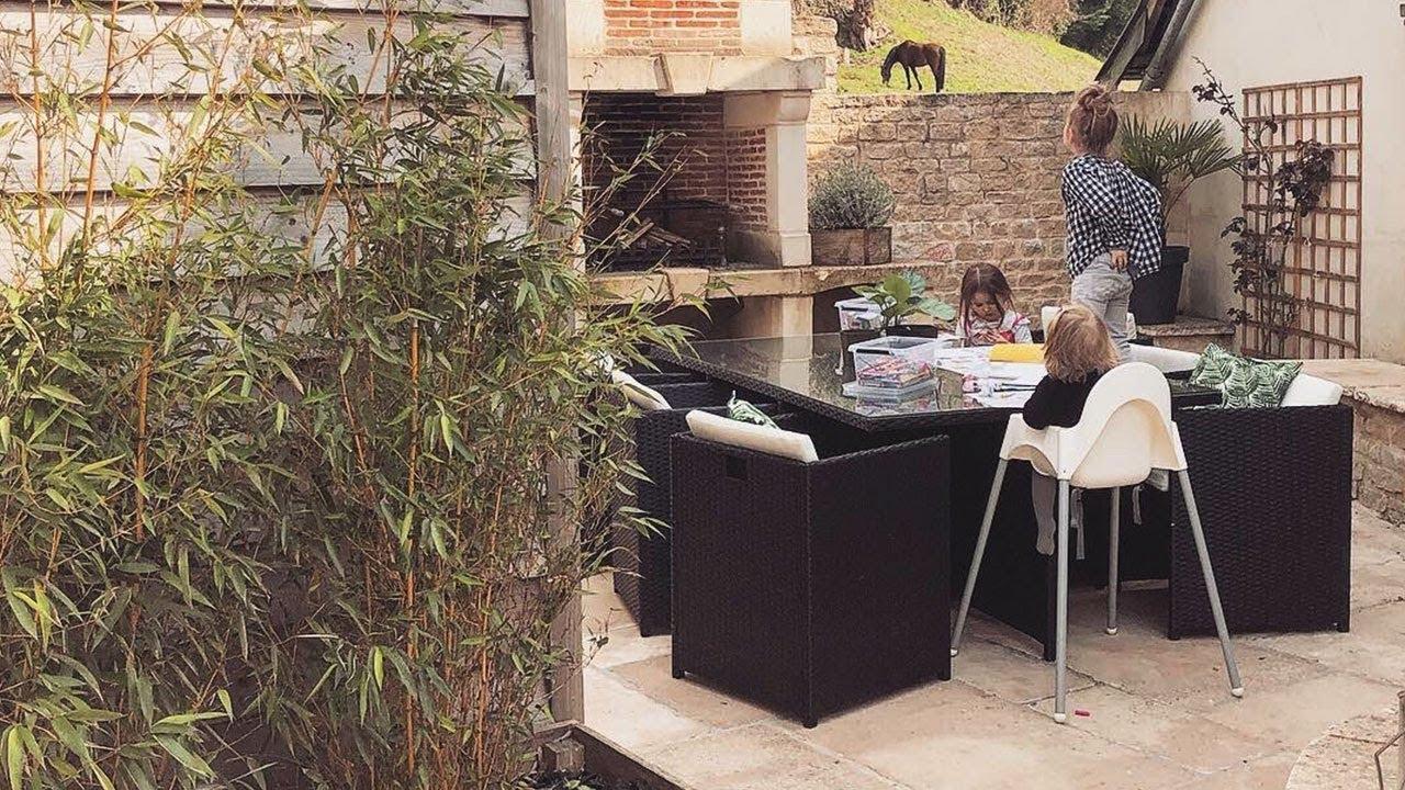 Avis Client - Salon De Jardin Family 6 Places - Bobochic© encequiconcerne Brico Depot Salon De Jardin