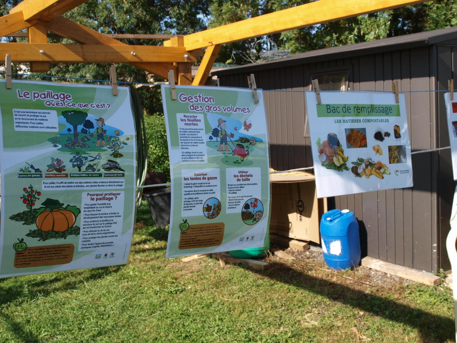 Azé | Une Belle Journée Au Contact Des Jardiniers dedans Composteur De Jardin