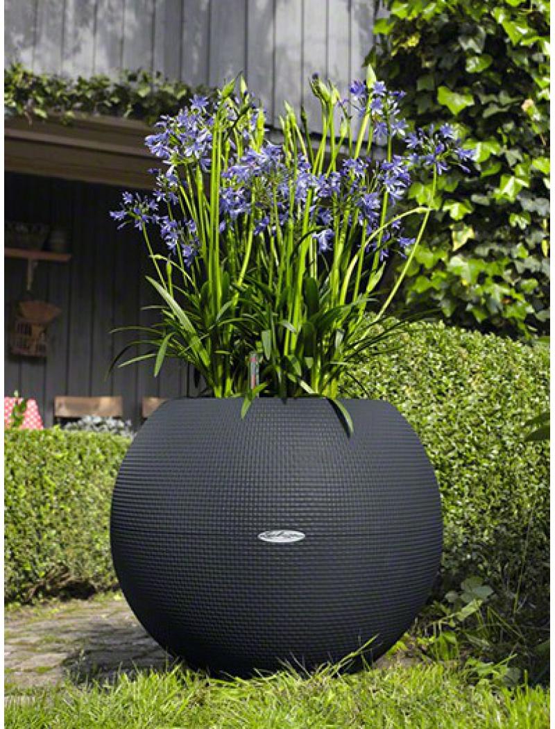 Bac Puro Color 50 Gris Ardoise Kit Complet pour Pot Deco Jardin Exterieur