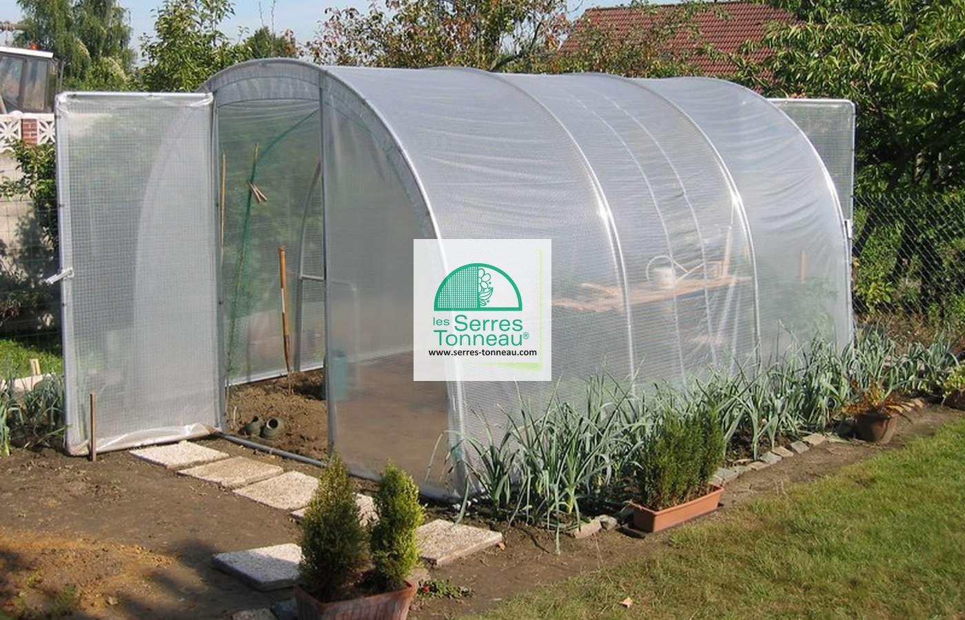 Bache De Toit Serre Jardiniere Long. 6M00 concernant Bache Pour Serre De Jardin