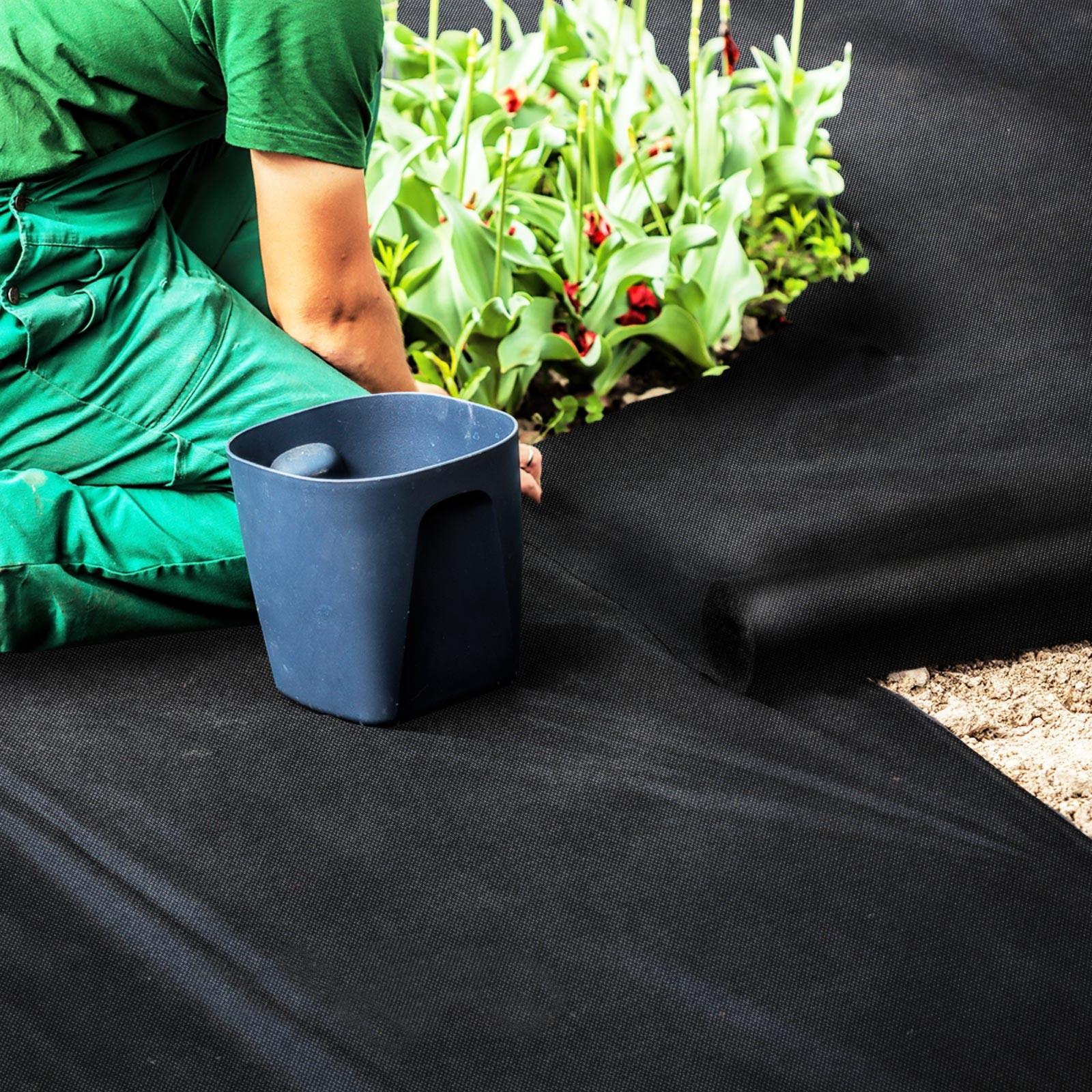 Bâche Noire Agricole Résistante | 150 G/m² | Sur Mesure | 3 Largeurs pour Bache Noire Jardin