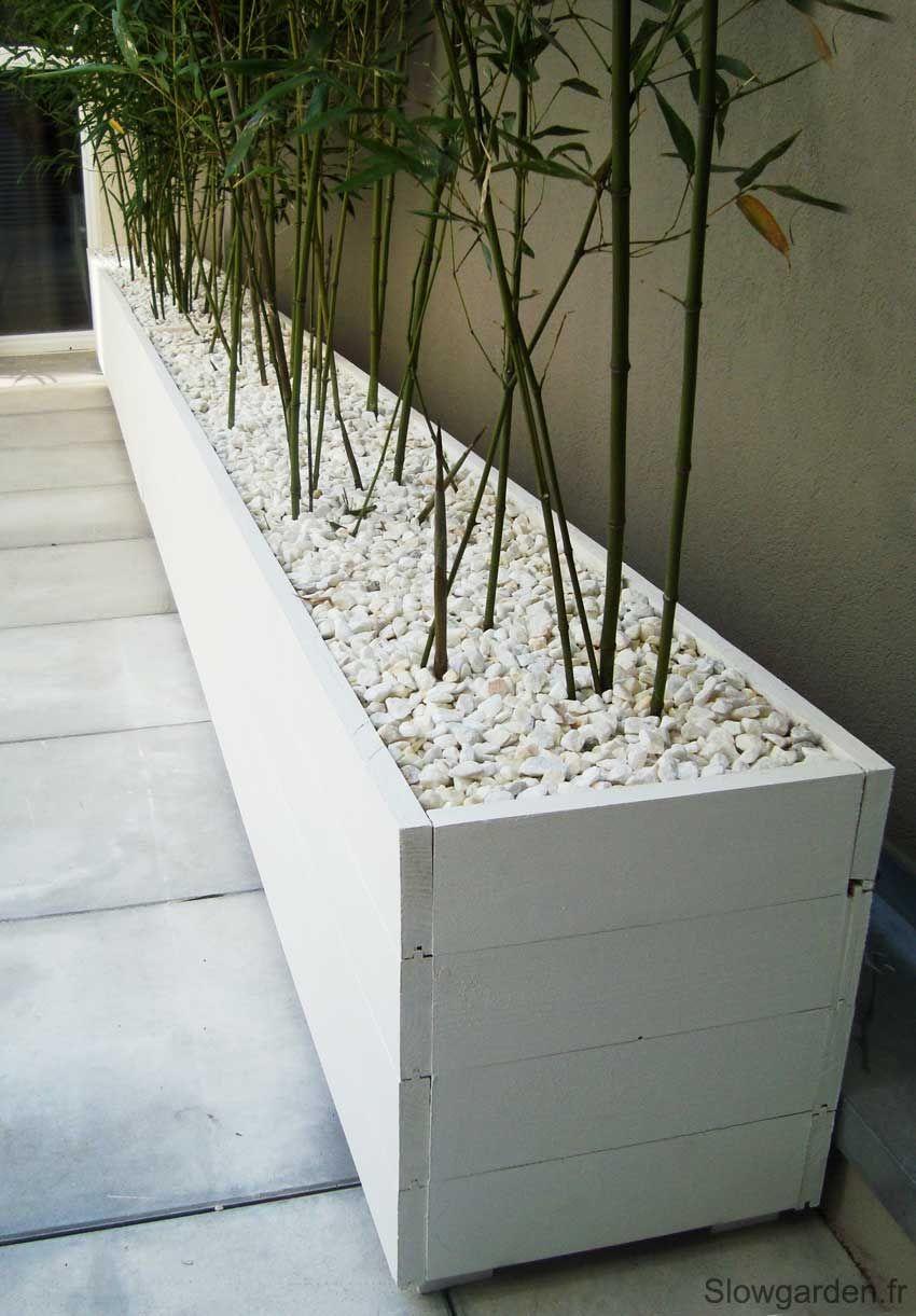 Bacs Plantes Bois Sur Mesure Marseille | Jardinière En Bois ... concernant Bac En Bois Pour Jardin