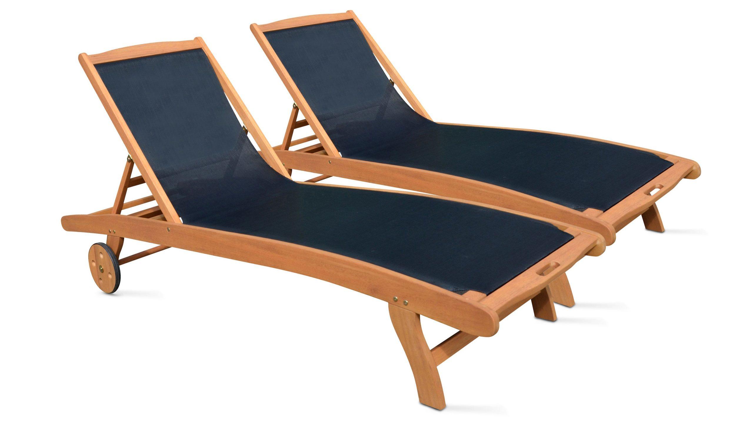 Bain De Soleil En Bois Pas Cher | Oviala à Chaise Longue Jardin Pas Cher
