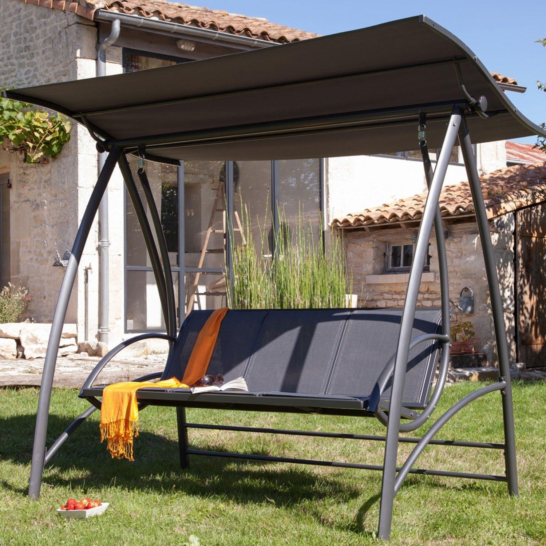 Balancelle Castorama Amazing Toit With À De Chaise Longue ... encequiconcerne Balancelle De Jardin Leclerc