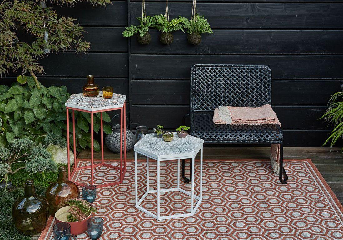 Balcon Deco Tendance Inspiration | Tapis Extérieur, Petit ... avec Petit Salon De Jardin Pour Balcon