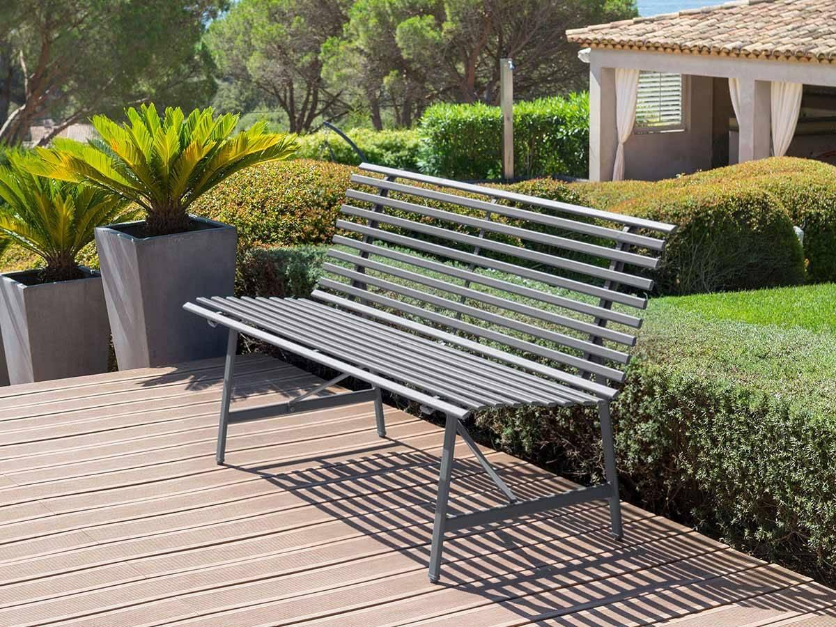 Banc De Jardin Bois Et Plastique Pas Cher dedans Salon De Jardin Plastique Pas Cher