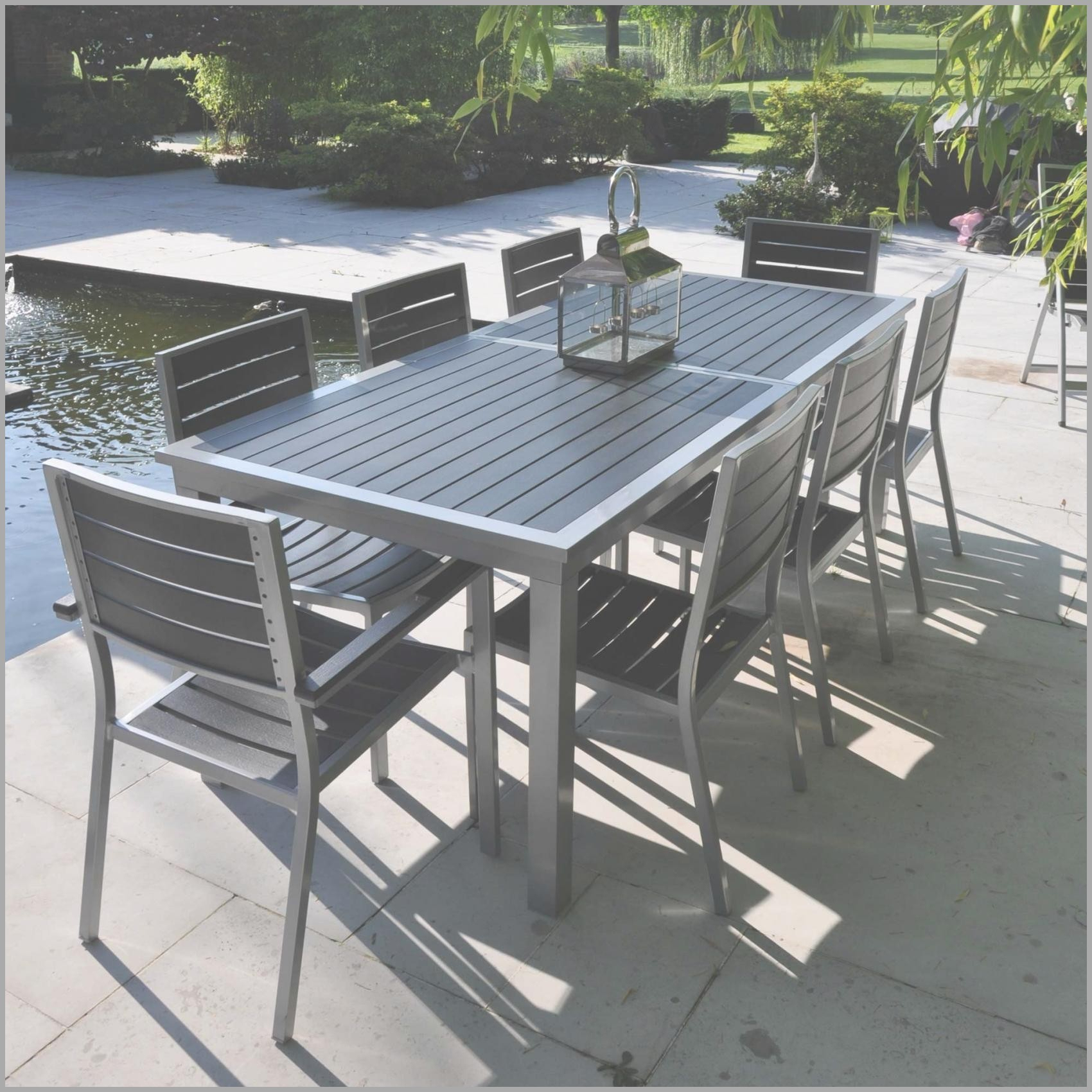 Banc De Jardin Jardiland New Table Aluminium Charmant Banc ... à Table De Jardin Jardiland