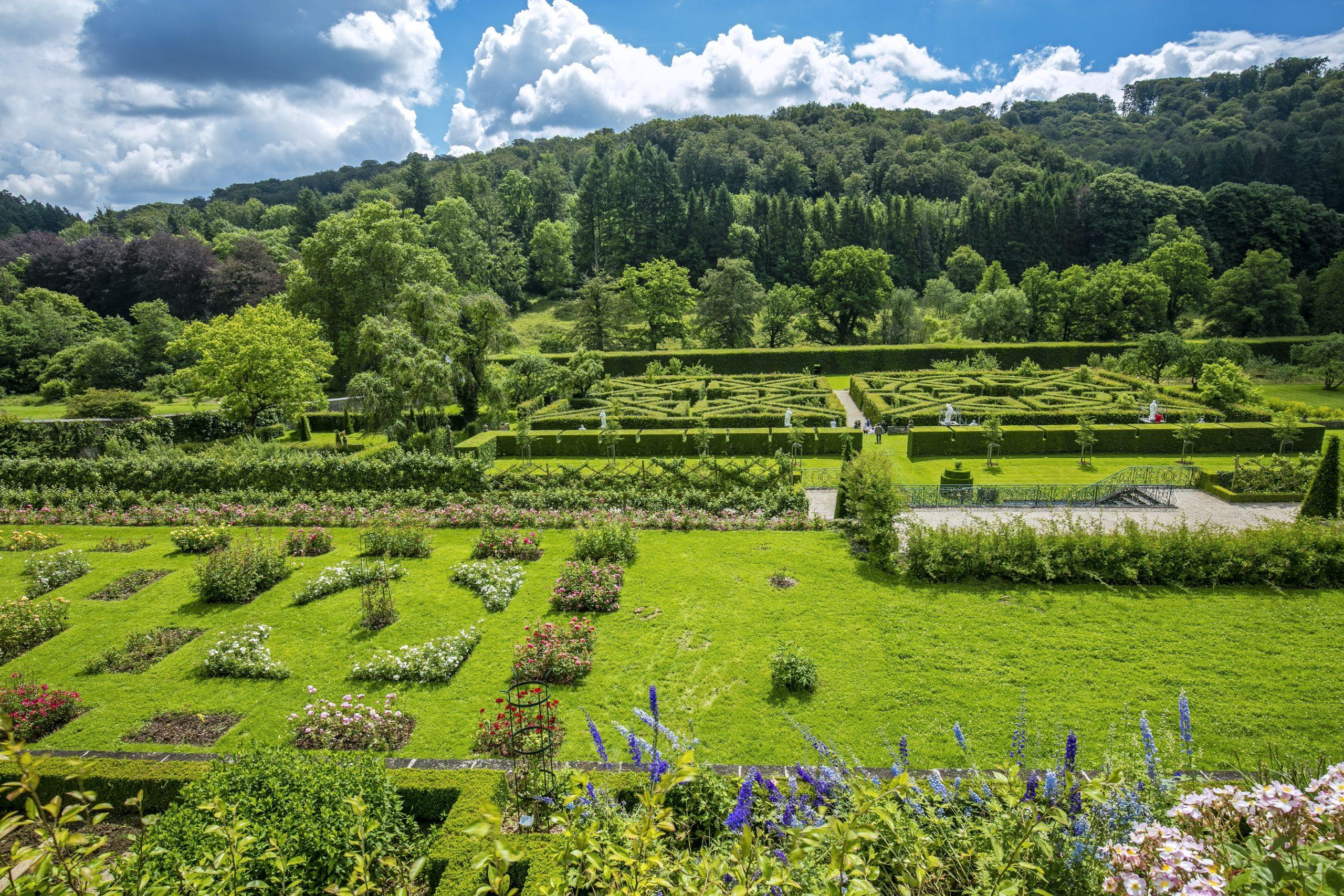 "Baptême De La Rose ""jardins D'ansembourg"" / Heritage Days ... concernant Delimitation Jardin"