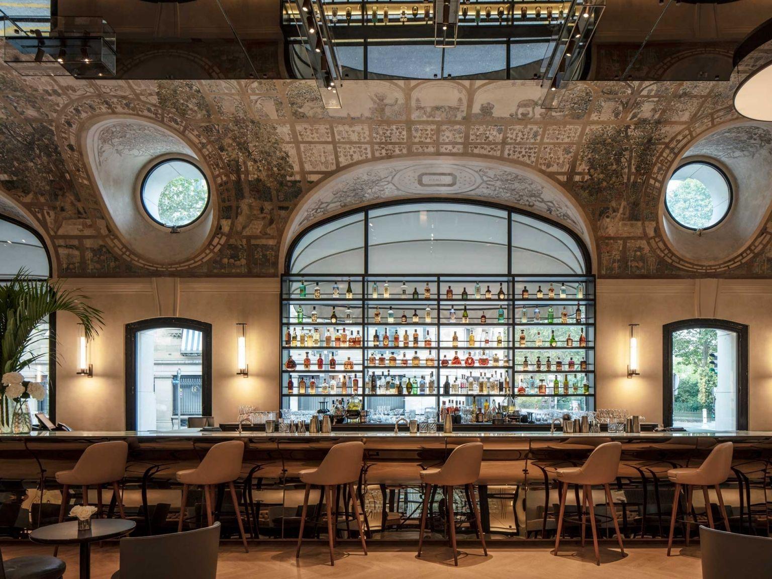 Bar Josephine | Paris | Palace Hotel Lutetia à Restaurant Avec Jardin Ile De France