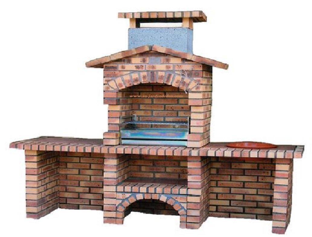 Barbecue En Briques Leopard L-J630A concernant Barbecue De Jardin En Brique
