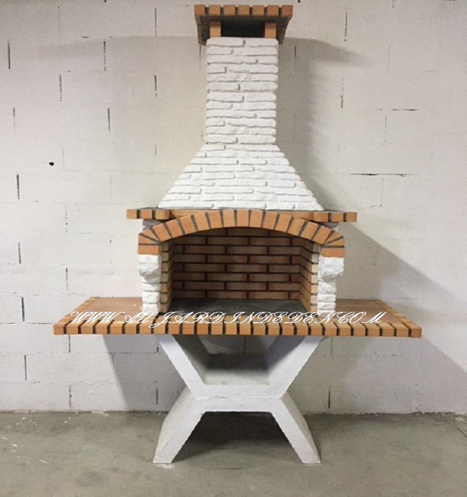 Barbecue Exterieur De Jardin En Brique Casa Jolie-A avec Barbecue De Jardin En Brique