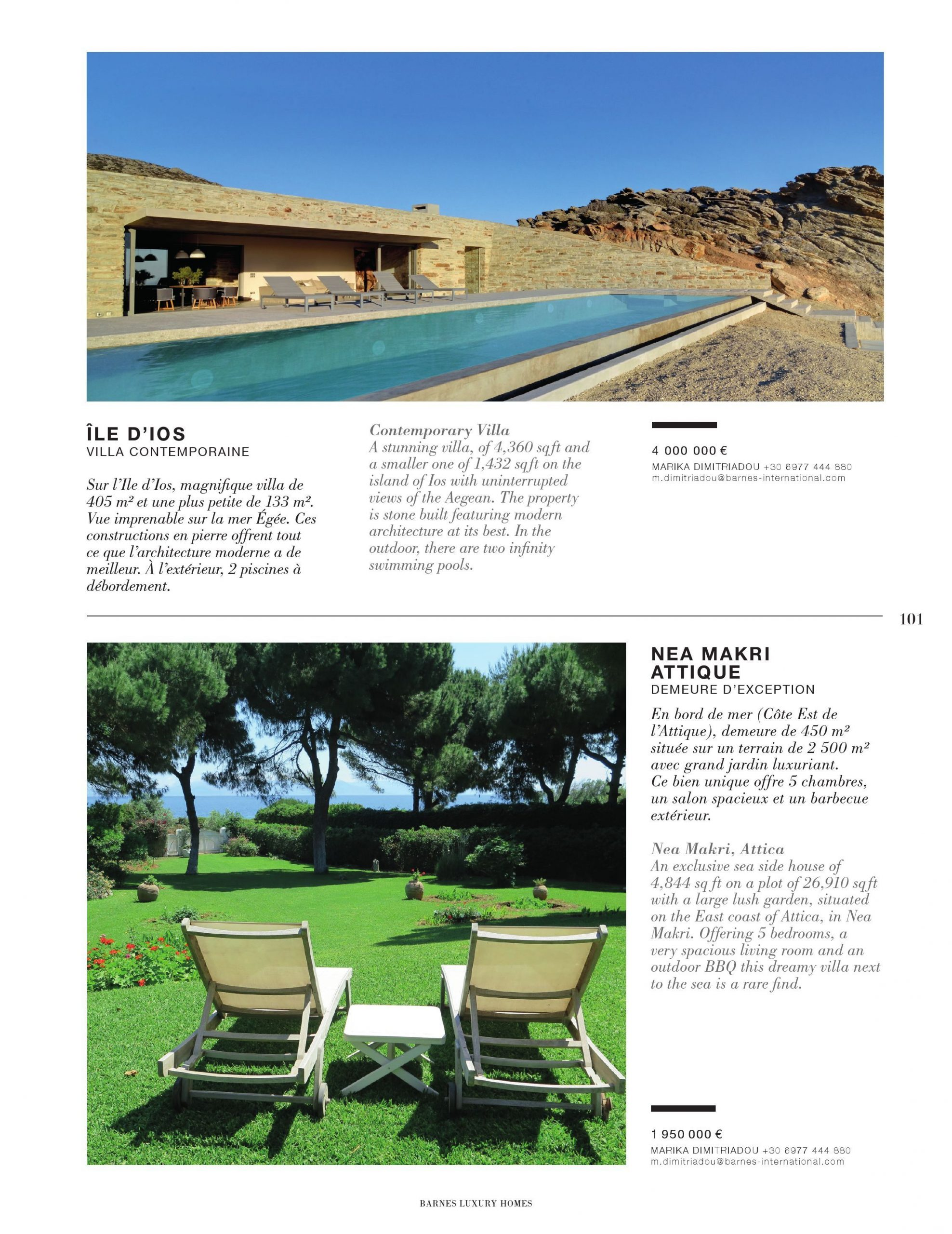 Barnes Luxury Homes #22 Pages 101 - 150 - Text Version ... concernant Salon De Jardin En Pierre
