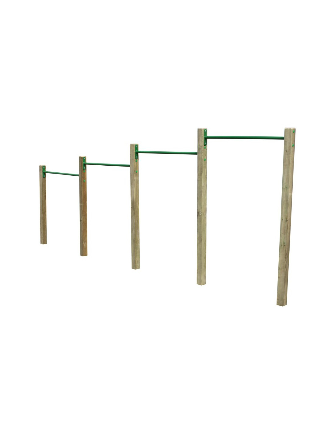 Barres De Voltige Pour Circuit Gymnastique En Métal destiné Barre De Gymnastique Pour Jardin