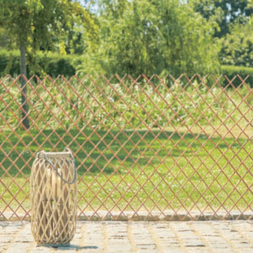 Barrière Extensible Bois Naturel serapportantà Barriere De Jardin Bois