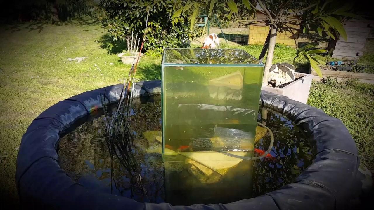 Bassin Avec Observatoire Aquarium Pour Voir Ses Poisson De N ... dedans Bassin De Jardin Pour Poisson